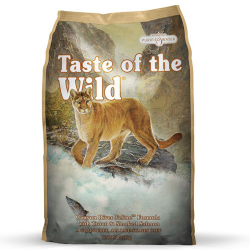 Taste Of The Wild Canyon River Feline Dry Cat Food