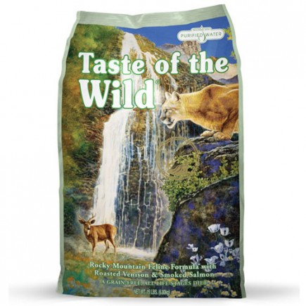 Taste Of The Wild Rocky Mountain Feline Dry Cat Food