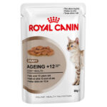 Royal Canin Ageing +12 in Gravy Wet Cat Pouches, 85g