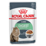 Royal Canin Digest Sensitive in Gravy Wet Cat Pouches, 85g