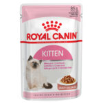 Royal Canin Kitten Instinctive in Gravy Wet Cat Pouches, 85g