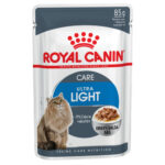 Royal Canin Ultra Light in Gravy Wet Cat Pouches, 85g