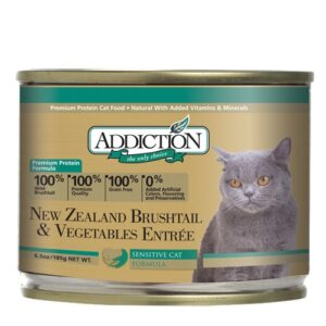 Addiction- Brushtail and Vegetables Entrée Canned Cat Food