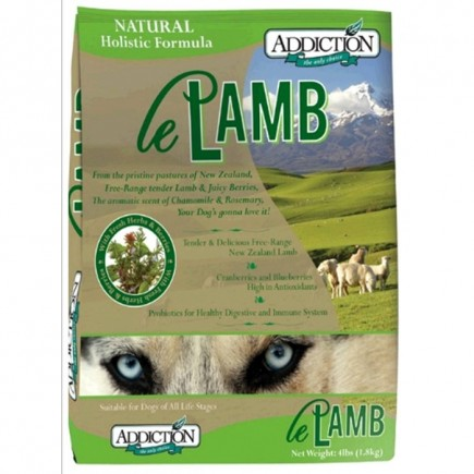 Addiction Le Lamb Dry Dog Food
