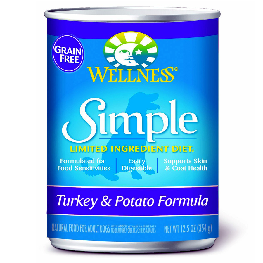 Wellness Simple Turkey And Potato Canned Dog Food