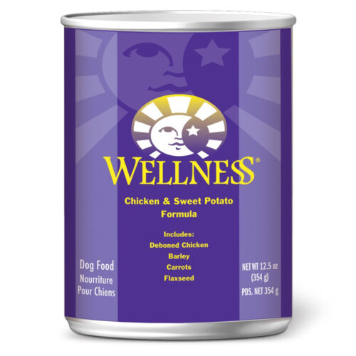 Wellness Chicken And Sweet Potato Canned Dog Food