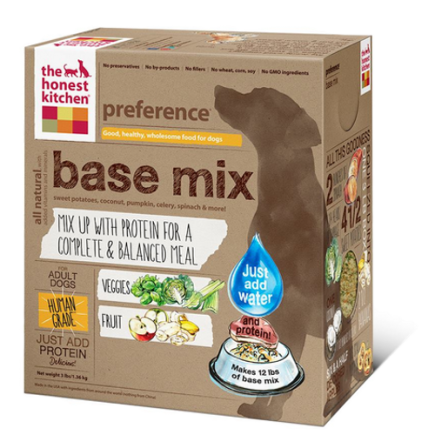 Honest Kitchen Preference Dehydrated Base Mix Dog Food