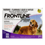 Frontline Plus: Flea and Tick Spot On for Large Dogs (20-40kg)