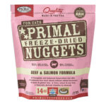 Primal Beef & Salmon Freeze-Dried Cat Food, 14oz