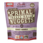 Primal Turkey Freeze-Dried Cat Food, 14oz
