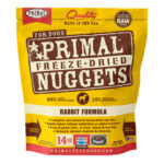 Primal Rabbit Freeze-Dried Dog Food, 14oz