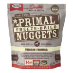 Primal Venison Freeze-Dried Dog Food, 14oz