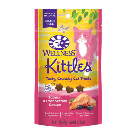 Wellness Kittles Treats in Salmon and Cranberries