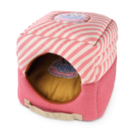 CATIDEA Double Comfy Cat Bed in Pink