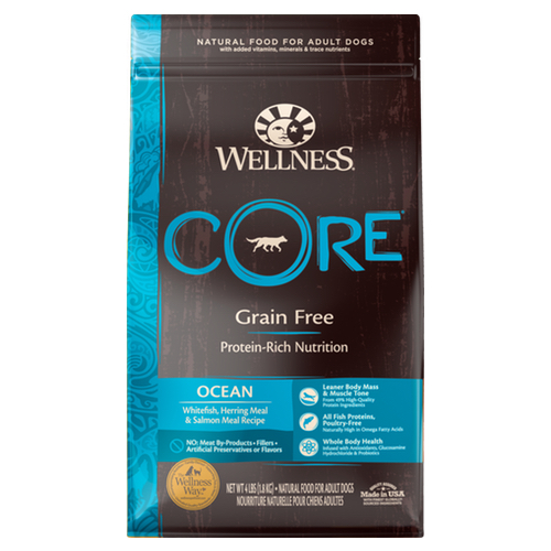 wellness core ocean dry dog food nekojam