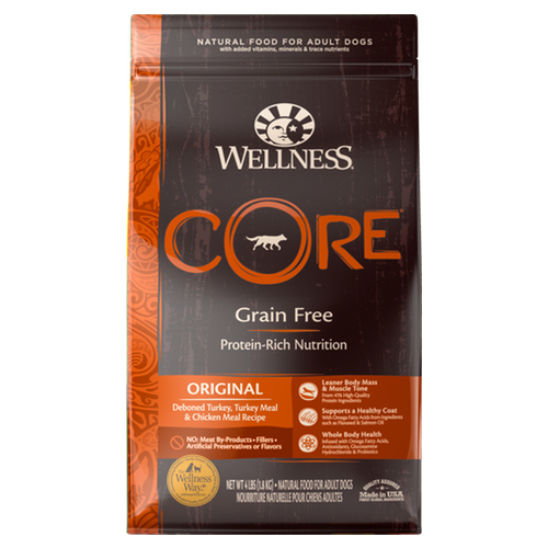Wellness CORE Original Dry Dog Food nekojam
