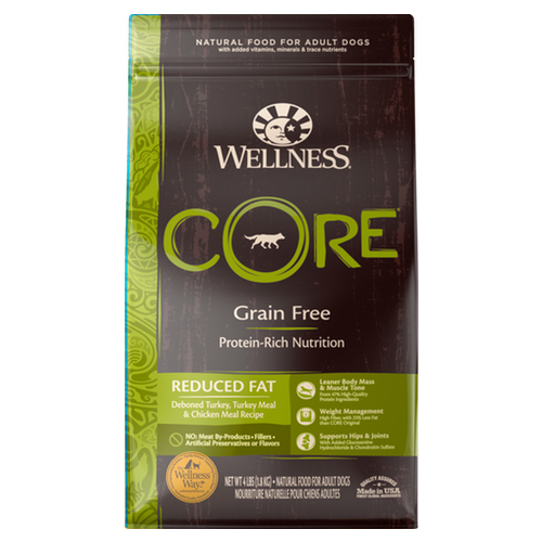 Wellness CORE Reduced Fat Dry Dog Food nekojam