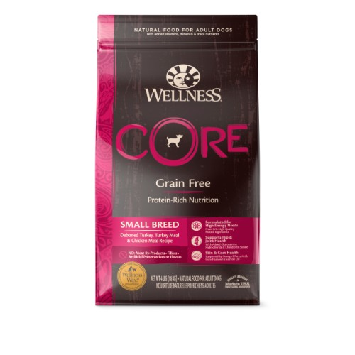 Wellness CORE Original Dry Dog Food for Small Breeds nekojam