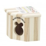 Marukan Wooden Cookie Corner Hamster House