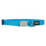 Red Dingo Collar Classic Safety Cat Collar in Turquoise