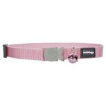Red Dingo Collar Classic Safety Cat Collar in Pink