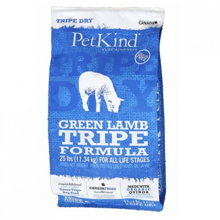 Petkind Lamb Tripe Dry Dog Food