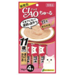 Ciao Churu Collagen Tuna & Skipjack Liquid Cat Treats
