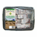 Pet Cubes Frozen Fresh Kangaroo Meat Cubes