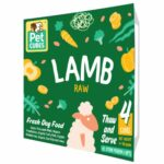Pet Cubes Lamb Frozen Raw Dog Food