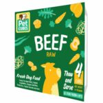 PetCubes Beef Frozen Raw Dog Food