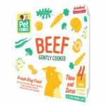 PetCubes Complete Beef Frozen Cooked Dog Food