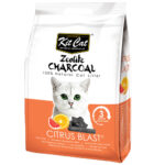 Kit Cat Zeolite Charcoal Litter (Citrus Blast)