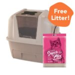 FREE LITTER: Hagen Catit Smart Sift Litter Box