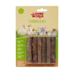 Living World Nibblers Kiwi Wood Sticks Chews