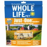 Whole Life Pet Just-One Ingredient Pure Chicken Freeze-Dried Dog & Cat Treats, 10z