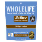 Whole Life Pet LifeBites Chicken Freeze-Dried Cat Food, 16oz