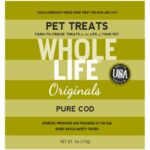 Whole Life Originals Pure Cod Single Ingredient Treats (Value Pack)