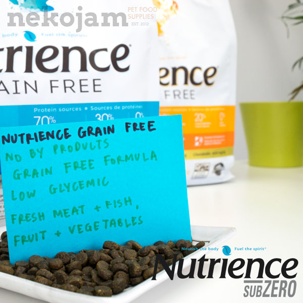 Nutrience Dry Cat Food Review and Comparison