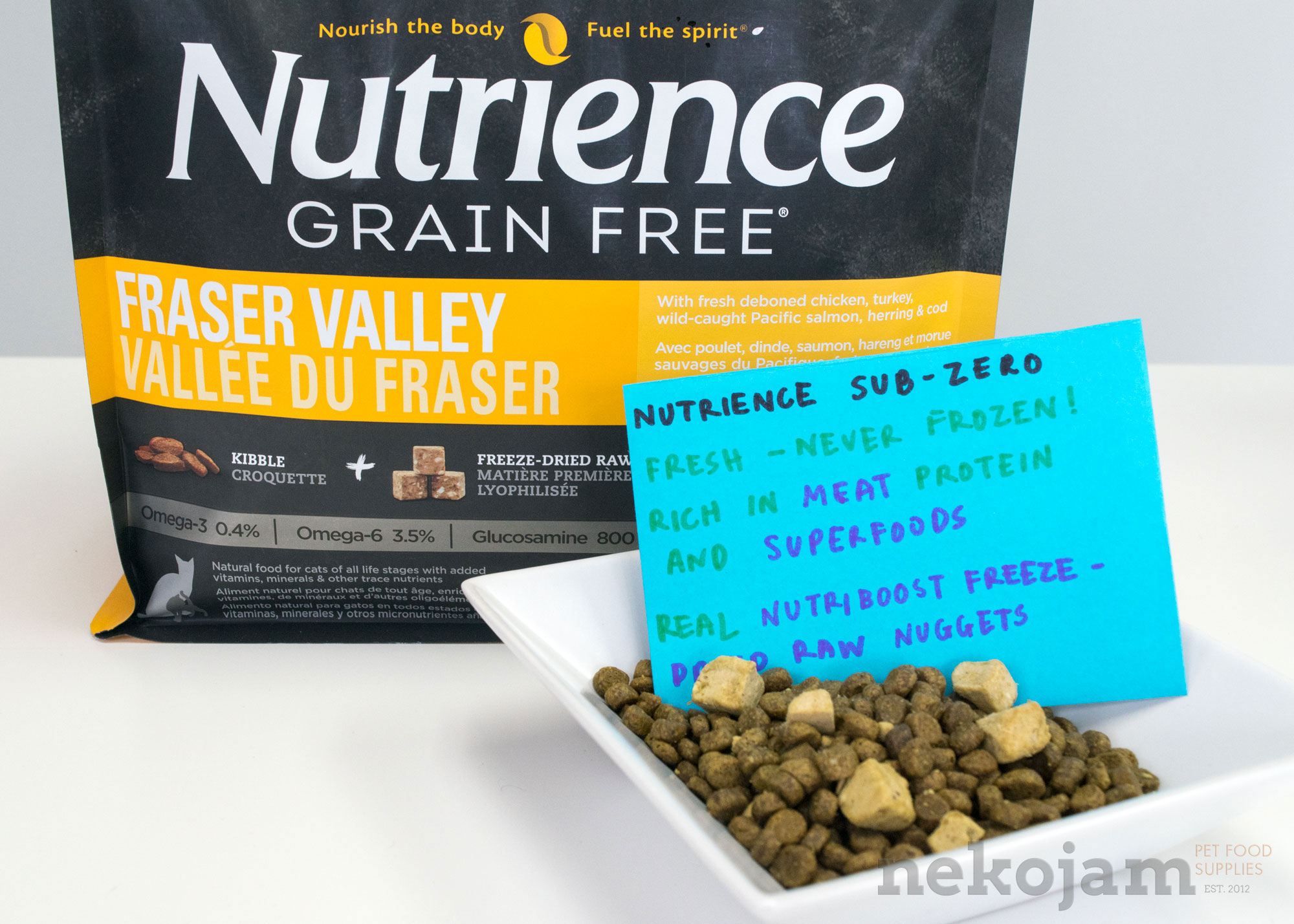 Nutrience Natural Cat Food Review