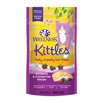Wellness Kittles Treats in Whitefish and Cranberries