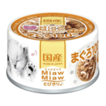 Miaw Miaw Tuna with Chicken Fillet Canned Cat Food, 60g