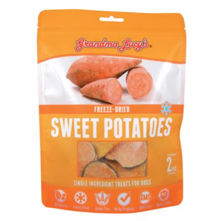 Grandma Lucy S Freeze Dried Sweet Potato Dog Treats