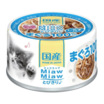 Miaw Miaw Tuna with Whitebait Canned Cat Food, 60g