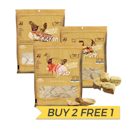 BUY 2 FREE 1: Absolute Bites Freeze Dried Treats