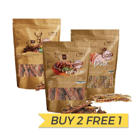 BUY 2 FREE 1: Absolute Bites Air Dried Treats