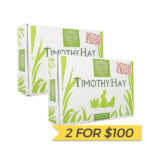 2 FOR $100: Small Pet Select Diamond Cut Timothy Hay