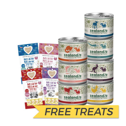 FREE TREAT: Zealandia Canned Cat Food