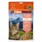 Feline Natural Lamb and Salmon Freeze-Dried Cat Food, 320g