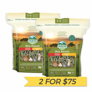 2 FOR $75: Oxbow Western Timothy & Orchard Grass Hay Blend 90oz