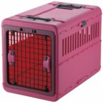 Richell Foldable Pet Carrier (Pink)